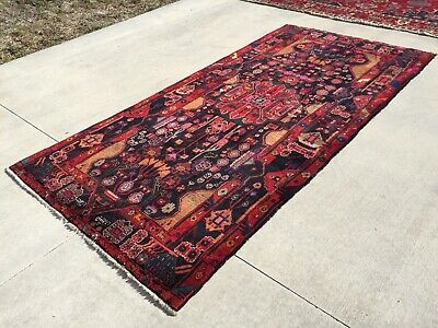 Persian Rug Carpet 5'X10'