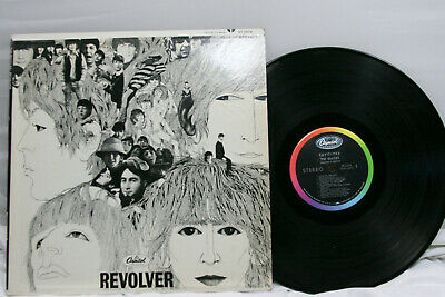 The Beatles Revolver Vinyl LP Record Capitol Records ST-2576