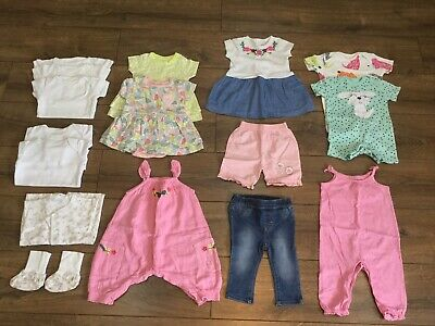 Baby Girls Clothes Bundle Next, F&F, H&M, Mini Club Size 3-6 Months