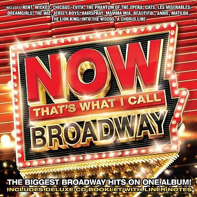 Now - Thats What I Call Broadway [New & Sealed] CD