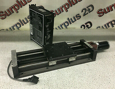 Parker 506101S-1P0 Linear Positioning Table W/ Parker Compumotor S6 Driver