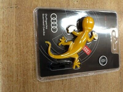 000087009C,Genuine Audi `Tropical Fruits` Gecko Air Freshener ( Yellow )