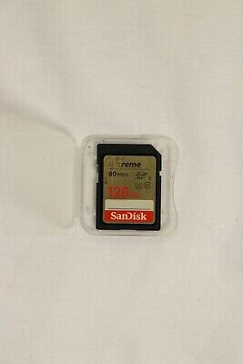 SanDisk Extreme 128 GB SDXC Memory Card, up to 90 MB/s, Class 10, U3