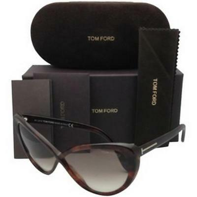 6172ec8b5082a Tom Ford Madison TF253 52F Havana Gradient Brown Sunglasses Brand New  Authentic