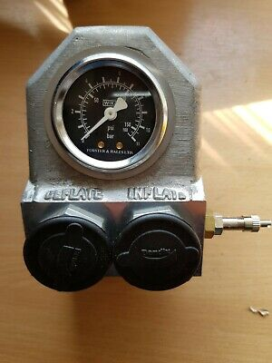 Forster & Hales Ltd Military Vehicle Pneumatic Tyre Inflator Gauge