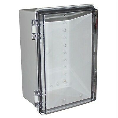CamdenBoss CHDX8-227C X8 Series Hinged Poly Transparent Lid 300x200x150 IP66/67