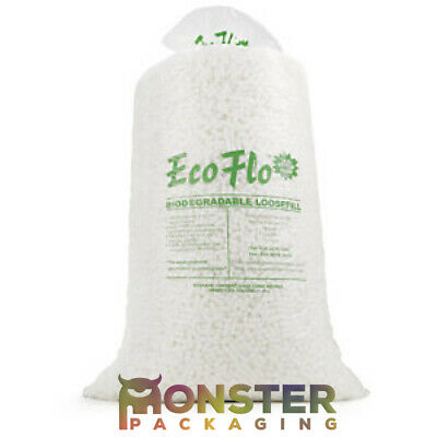 15 Cubic Feet Of Ecoflo Loose fill Packing Peanuts Bio Degradable Void Fill