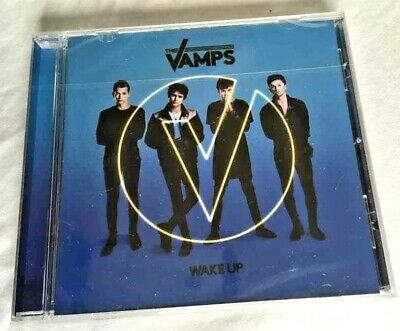 ♫♫ The Vamps ~ Wake Up ♫♫ Genuine Brand New & Factory Sealed Cd Album + Fast P&p