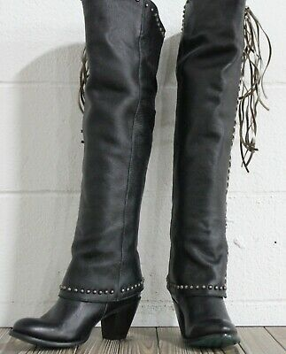 783233786e51d NEW $248 ☮ Free People Mystic Charms Silver Heel Boots ☮ Size 38 ...