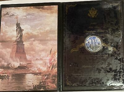 2001 American Silver Eagle 9/11 Memorial World Trade Tower 1 oz .999 Fine Silver