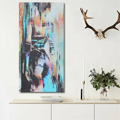 Abstract Art Woman Girl Back Canvas Oil Print Painting Picture Home Wall