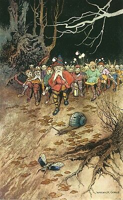 The Fairy Book XI - Warwick Goble 1920 Repro Print Poster Picture Image Art A4