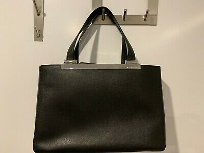 5d2caace343b4b MICHAEL KORS LARGE Tilda Saffiano Leather Tote in Black - $107.27 ...