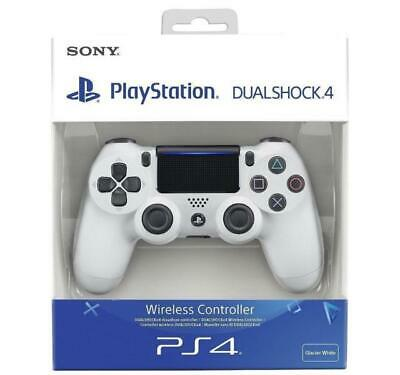 Official Sony PlayStation Controller PS4 DUALSHOCK 4 White V2 Genuine