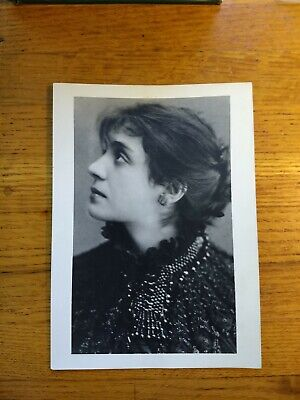 Antique or Vintage Photograph Eleonora Duse Italian Actress - C1920