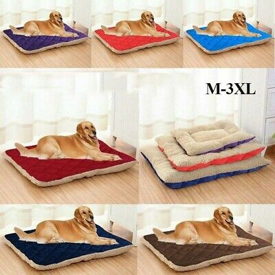 Pet Kennel Plush Bed House Cats Puppy Nest Dog Soft Material Mats Washable Comfy