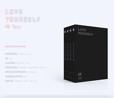 BTS Love Yourself 轉 Tear The 3rd Album + Poster
