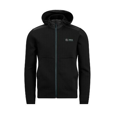 Mercedes AMG Petronas Motorsport F1 Men's Hooded Sweat Jacket - 2019
