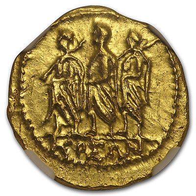 Thracian/Scythian Gold Stater Coson (after 54 BC) AU NGC - SKU#190927