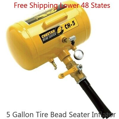 USA NEW 5 Gal Air Tire Bead Seater Blaster Tire Tool Service Inflator Equipment