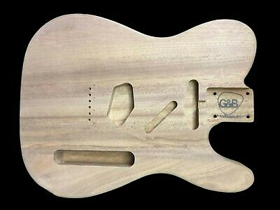 Guitar Body Telecaster /Sapele /3pc/2.9kg/04166T