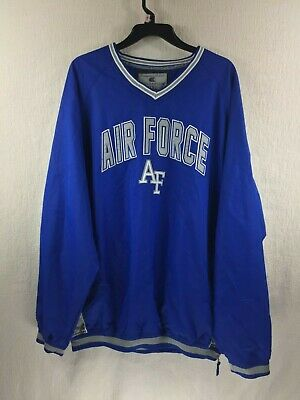 08cb4c55fe0 Air Force Academy Falcons Windbreaker Jacket Pullover Men s Size XXL