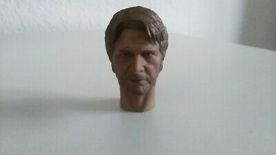 ---- Head ----- Harrison Ford ------ Sculpt ----- Kopf ----- 1/6