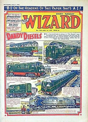 WIZARD - 1st AUGUST 1959 (28 July - 3 Aug) RARE 60th BIRTHDAY GIFT !! VG+..dandy