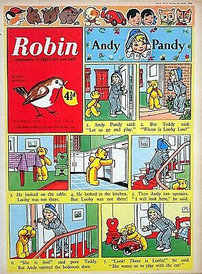 ROBIN - 18th APRIL 1959 (13 - 19 April) BELATED 60th BIRTHDAY GIFT !! VG+..dandy