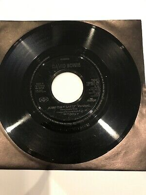 """David Bowie Jump They Say Jukebox 7"""" Record NM"""
