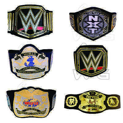 WWE World Heavyweight Champion WWF Wrestling NXT Tag Team Replica Adults Belts