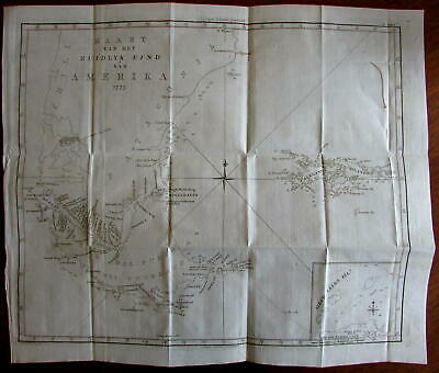 Tierra del Fuego Magellan Straits 1800 Capt Cook folio scarce antique map