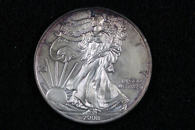 ESTATE FIND 2008  American Silver Eagle  #D13903