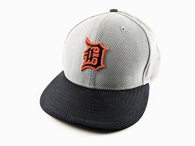 5cb6c7bde8d Detroit Tigers BP NE Tech Road Gray New Era 59Fifty Fitted Hat Authentic 7  3