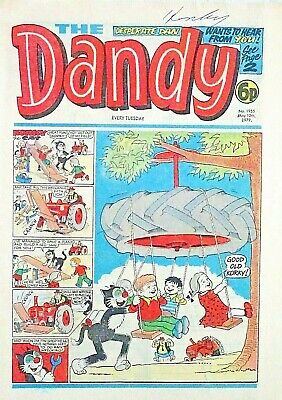 DANDY - 12th MAY 1979 (8 - 14 May) RARE 40th BIRTHDAY GIFT !! FINE beezer topper