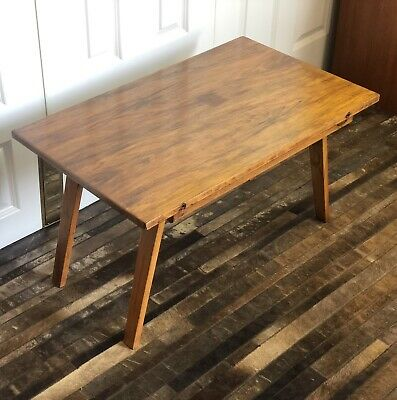 Beautility Folding Coffee Table Mid Century Vintage
