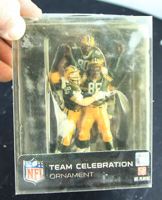 Green Bay Packers Forever Collectibles 3 Players Celebration Ornament