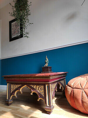 Stunning vintage / antique gothic church pulpit - Coffee Table conversion