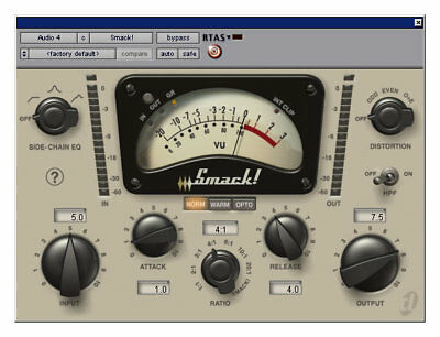 Avid Digidesign Smack! LE Compressor iLok asset for Pro Tools 2018 12 11 10 9 8