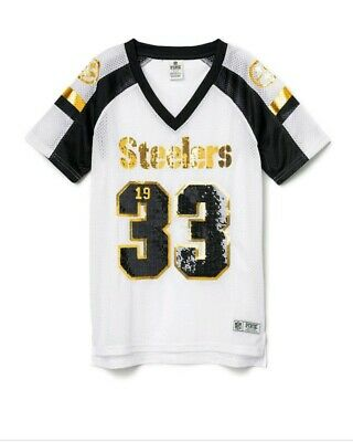 3f69fa1eea6 VICTORIA SECRET PINK Pittsburgh Steelers Let's Go all The way Shirt ...