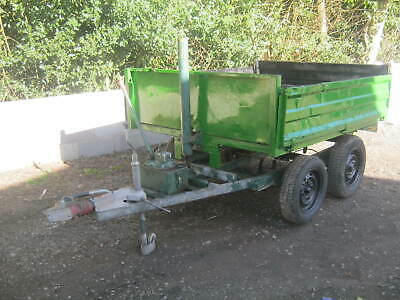 Tipping Trailer Twin Axle Drop Side 6Ft X 5Ft