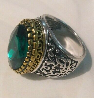 Extremely Antique Old Vintage Rare Viking Ethnic Silver Handicraft Quality Ring
