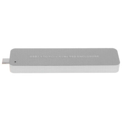 Type-C M.2 Pci-e NVMe SSD Enclosure Usb 3.1 Gen 2 Converter Up to 10Gbps