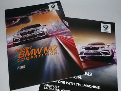 BMW M2 Competition. Brochure & Pricelist (2018)