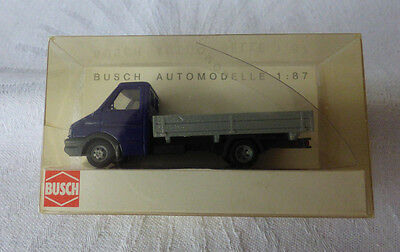 BUSCH 47929 Spur H0 Iveco Daily »Göppinger Sprudel« #NEU in OVP#