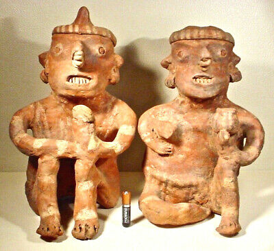 Pre-Columbian Nayarit Couple Ex Sothebys '78