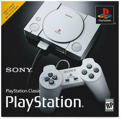 NEW Sony PlayStation Classic (PS1) Console 20 built in games 100% authentic