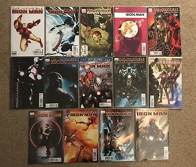 Invincible Iron Man 20-33 Fraction 21,22,23,24,25,26,27,28,29,30,31,32 Variants