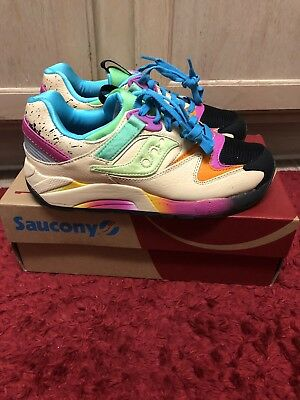 d25e5435 SHOE GALLERY X Saucony Grid 9000 local only rare size 7 Mens S70234 ...