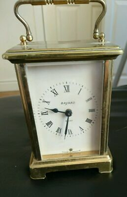 Lovely Vintage Brass Carriage Clock from BAYARD (8 Day)
